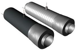 Концевой элемент трубопровода с кабелем вывода